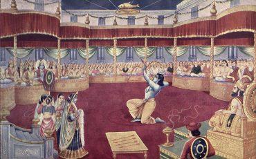 1 A Escolha de Draupadi. Public Domain