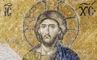 Christ Pantocrator – Mosaïque de la  Déisis – Sainte-Sophie (Istambul, Turquie)